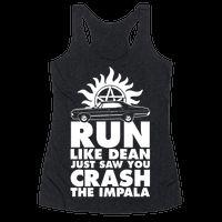 Run Like Dean Just Saw You Crash the Imp...