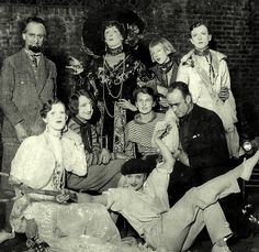 The Bright Young Things, Impersonation Party, 1927: Among the revellers are Cecil Beaton (back left), Tallulah Bankhead (front right), Elizabeth Ponsonby (in black hat), and (front row left) Stephen Tennant as Queen Marie of Romania