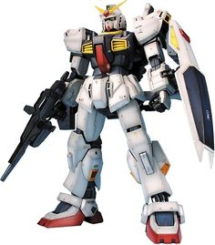 The RX-178 Gundam Mark-II is a fictional mobile suit from the Universal Century Gundam anime series.