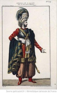 [La Jérusalem délivrée, opéra de Baour-Lormian, Gardel et Persuis : costume de Dérivis (Argant) / dessiné par Joly] - 1