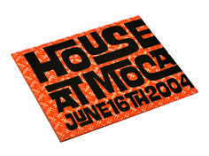 Andy Cruz AIGA/LA House Industries Poster 80 lb Uncoated White Smooth Text   3/3, 3PMS   Trim & Fold