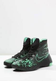 hot sale online f98be 1ae6e HYPERDUNK 2015 PREMIUM - Basketballschuhe - black green glow anthracite -  meta.domain