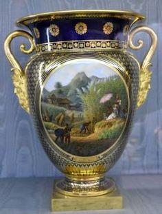porcelaine de Sèvres, vase