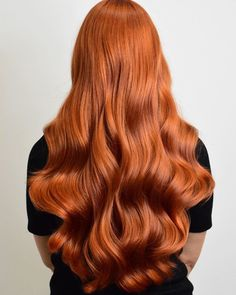 Shiny copper red hair takes centre stage for Fall/Autumn. Created by Wella Educator Laila Pettersen.