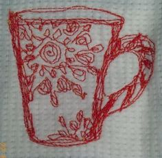 Today I learnt how to do free motion machine embroidery! - Sew, What's New?