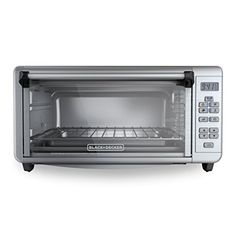 BLACKDECKER TO3290XSD 8Slice Digital Extra Wide Convection Countertop Toaster Oven Includes Bake Pan Broil Rack  Toasting Rack Stainless Steel Digital Convection Toaster Oven ** You can find more details by visiting the image link.