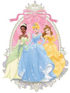 Princesas disney-Imagenes y dibujos para imprimir