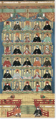 30 Kami Protecting the Buddhist Scriptures