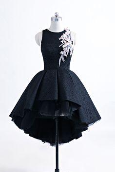 Cute heavy satin high low prom dress, homecoming dress, fashion prom dress for teens #homecomingdresses #shortpromdresses #dressesforteens