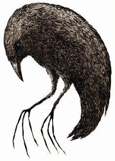 2headedsnake:  David Gaue - The Deep Crow