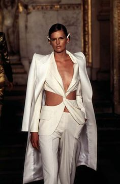 1997 - McQueen 4 Givenchy Couture Show - Stella Tennant