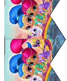 Shimmer and Shine Birthday Party Printable Files | Daisy Celebrates!
