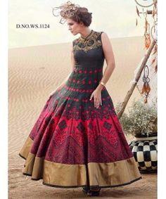 Latest Fancy Designer Gown  http://www.kmozi.com/latest-fancy-designer-gown-898