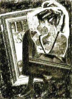 "Saatchi Art Artist CARMEN LUNA; Drawing, ""19-SURREAL Mania. El arte de ver arte."" #art"