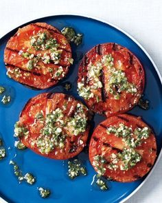 Grilled Tomatoes with Oregano and Lemon Recipe