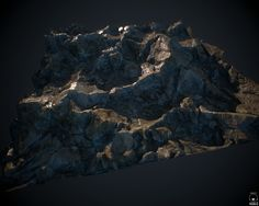 ArtStation - Random rocky surface - 100% Substance Designer , Robert Wilinski