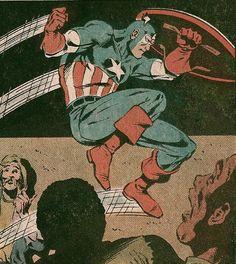 Captain America - Mark Bright