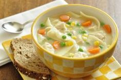 Hearty Chicken and Homemade Noodle Soup | Food Hero - Healthy Recipes that are Fast, Fun and Inexpensive