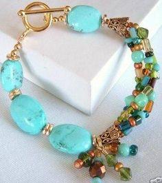 bracelete original e criativo