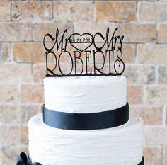 Wedding Cake Topper item number 10054 by VVDesignsShop2 on Etsy, $30.00