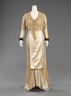 Evening Dress by Jacques Doucet, 1910, at The Metropolitan Museum of Art, via OMG That Dress!