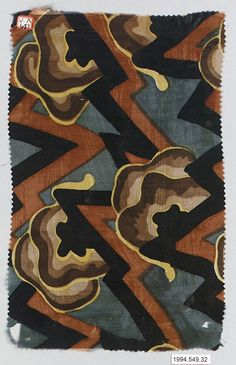 Textile sample : Wiener Werkstätte Designer: Unknown Designer Date: 1910–28 Medium: Silk. I have pinned this so many times now....I cant help it .