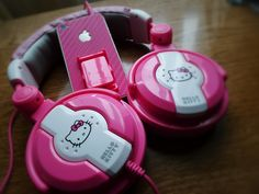 Hello Kitty Headphones :)