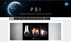 NASA Selects 8 Research Proposals Using NASA Physical Sciences Informatics System