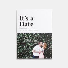 It's A Date Photo Card