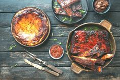 Butter Potatoes, Sliced Potatoes, Stewed Fruit, Potato Cakes, Smoked Pork, Sweet Sauce, Free Range, Pork Ribs, Brown Butter