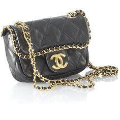 Chanel Mini  Chain Flap Clutch Handbag