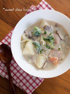 豆腐ホワイトソースで♪ごろごろ野菜のクリームシチュー by tomoさん ...