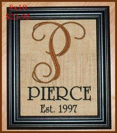 1000+ ideas about Monogram Picture Frames on Pinterest   Picture ...
