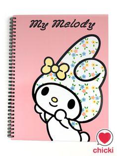 My Melody A4 Notebook