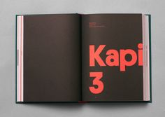 Kontroll - immortal book design for rising communication star Erik Modig