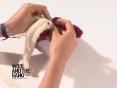 Fringe Tutorial - by WOOL AND THE GANG - YouTube