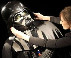 Original Darth Vader Costume from 'Star Wars' Set to Sell in London #halloween trendhunter.com