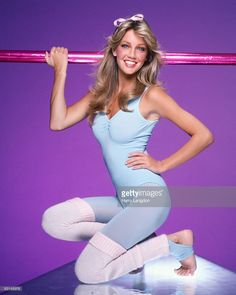 Actress Heather Locklear poses for a Fashion/portrait Session on February 2, 1981 in Los Angeles, California.