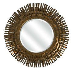 Wimberly Round Wall Mirror   Elementarie