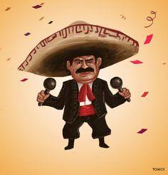 Cinco De Mayo by Tom-Cii on DeviantArt Wacom Intuos, Digital Art, Mexico, Concept Art, Fan Art, Deviantart, Drawings, Illustration, Painting