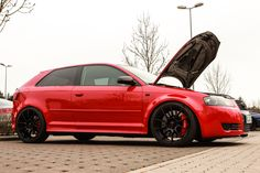 Audi A3 V6 3,2 Turbo mit 473 PS / 524 NM  http://www.autotuning.de/audi-a3-v6-32-turbo-mit-473-ps-524-nm/ A3, Audi Tuning News, BTS Racing, Turbo