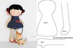 Doll Making Tutorials American Girl Diy Sewing Lessons Bear Doll Diy For Girls Sewing Toys Softies Doll Patterns Rag Doll TutorialDiscover recipes, home id Felt Doll Patterns, Stuffed Toys Patterns, Doll Crafts, Diy Doll, Fabric Toys, Fabric Crafts, Paper Toys, Rag Doll Tutorial, Sewing Dolls