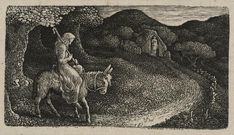 Edward Calvert 'The Return Home', 1830