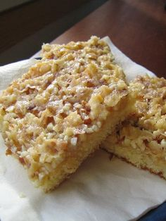 Just Eat It, Sweet Pie, Sweet And Salty, Something Sweet, Dessert Bars, No Bake Cake, Baking Recipes, Bakery, Good Food