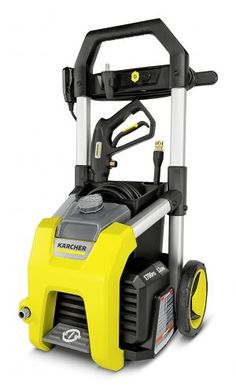 The 1700 PSI Electric Pressure Washer from Karcher offers high-cleaning performance and complete ease of use. This electric pressure washer provides 1700 PSI and includes several attachable spray nozzles for additional cleaning convenience. Best Pressure Washer, Pressure Washing, Metal Extrusion, Pressure Washer Accessories, Universal Motor, Metal Hose, Electric Power, Lawn Mower