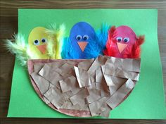 N is for Nest Craft - Preschool Craft - Letter of the Week Craft - Kids Craft