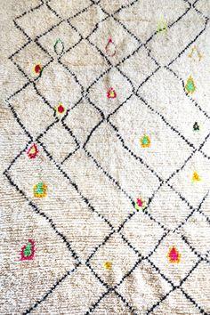 モロッコラグ ボ・シャルウィット ボ・シャラウィット Boucherouite フレンチモロッコ  モロッコ 絨緞 ベルベル アジラル Azilal ベニワレン