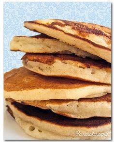 Panquecas Americanas de Banana ~ PANELATERAPIA - Blog de Culinária, Gastronomia e Receitas