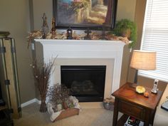 Fall Décor with crates
