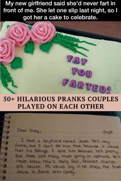Everyone loves making their significant other laugh. One great way to make your loved one chuckle is playing a prank on them. From rearranging your house to writing a surprising note, there are plenty of great pranks to play on your loved one. We've collected some of the funniest pranks from couples who aren't afraid to test their relationships. These pranks are all clever, cute, and gut-bustingly hilarious. We're amazed by the creativity of these couples! If you want to play a funny prank…